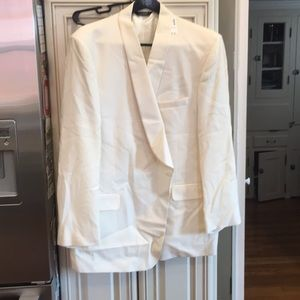 Jos. A. Bank Suits & Blazers - NWT Wool Ivory JoS A Bank Blazer Size 52L.